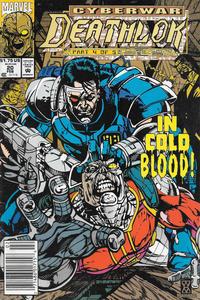 Cover Thumbnail for Deathlok (Marvel, 1991 series) #20 [Newsstand]