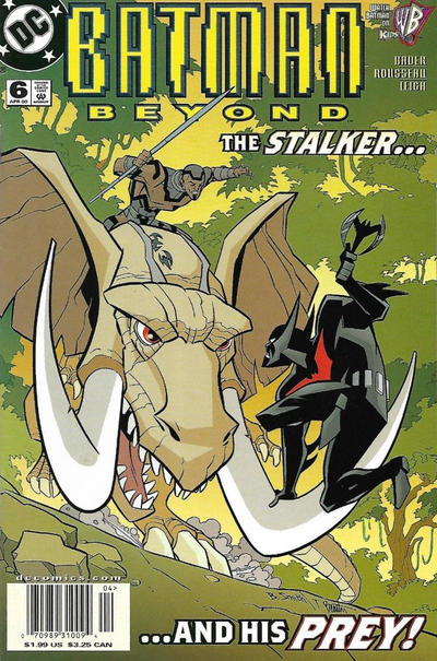 Cover for Batman Beyond (DC, 1999 series) #6 [Direct Sales]