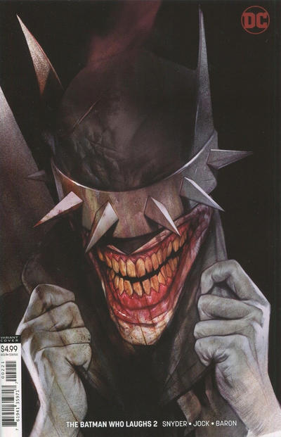 Cover for The Batman Who Laughs (DC, 2019 series) #2 [Ben Oliver]