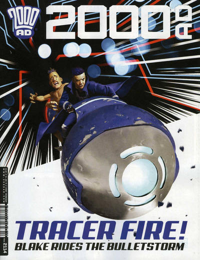 Cover for 2000 AD (Rebellion, 2001 series) #2114
