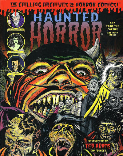 Cover for The Chilling Archives of Horror Comics! (IDW, 2010 series) #25 - Haunted Horror: Cry from the Coffin! And Much More! (Volume 7)