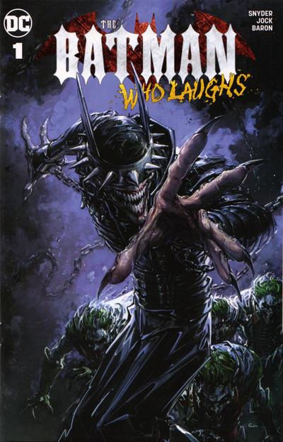 BATMAN WHO LAUGHS #1 PARRILLO SPECIAL EDITION VIRGIN VARIANT DC COMICS JOKER