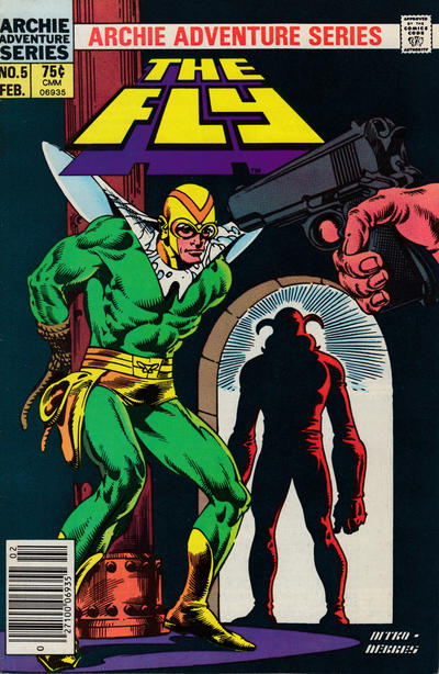 Cover for The Fly (Archie, 1983 series) #5 [Newsstand]