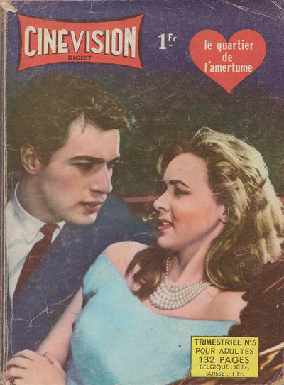 Cover for Cinévision (Arédit-Artima, 1962 series) #5