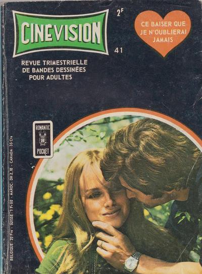 Cover for Cinévision (Arédit-Artima, 1962 series) #41