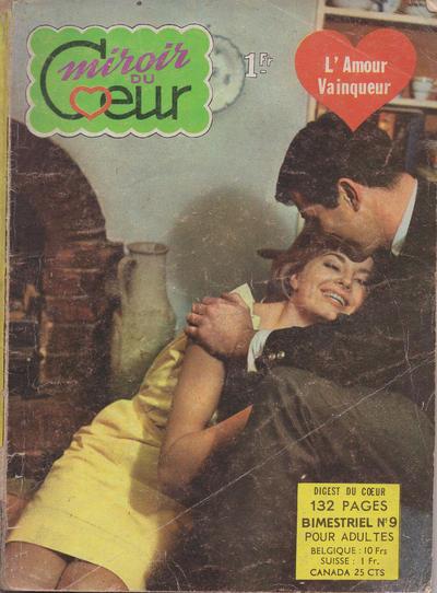 Cover for Miroir du Cœur (Arédit-Artima, 1962 series) #9
