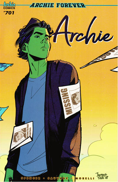 Cover for Archie (Archie, 2015 series) #701 [Cover C - Thomas Pitilli]
