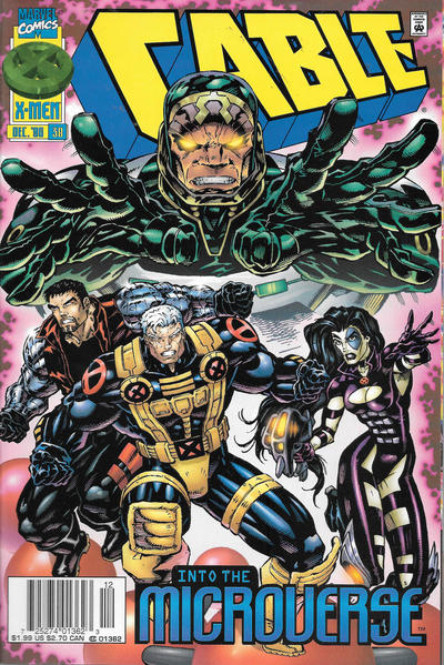 Cover for Cable (Marvel, 1993 series) #38 [Newsstand]