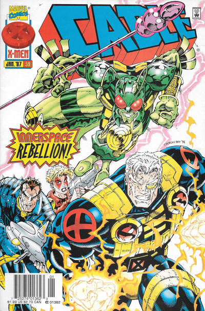 Cover for Cable (Marvel, 1993 series) #39 [Direct Edition]