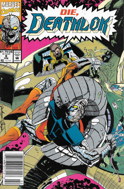 Cover for Deathlok (Marvel, 1991 series) #8 [Direct]