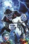 Cover Thumbnail for The Batman Who Laughs (2019 series) #1 [The Comic Mint Mike Mayhew Virgin Cover]