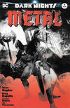 Cover for Dark Nights: Metal (DC, 2017 series) #1 [Forbidden Planet / Jetpack Comics Bill Sienkiewicz Black and White Cover]