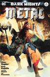 Cover for Dark Nights: Metal (DC, 2017 series) #1 [Forbidden Planet / Jetpack Comics Bill Sienkiewicz Color Cover]
