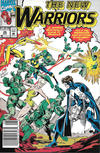Cover Thumbnail for The New Warriors (1990 series) #26 [Newsstand]