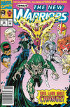 Cover for The New Warriors (Marvel, 1990 series) #29 [Newsstand]