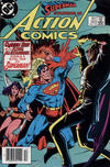 Cover Thumbnail for Action Comics (1938 series) #562 [Canadian]