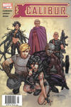 Cover for Excalibur (Marvel, 2004 series) #5 [Newsstand]