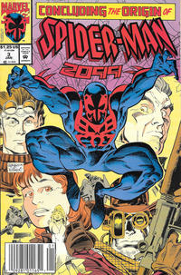 Cover Thumbnail for Spider-Man 2099 (Marvel, 1992 series) #3 [Newsstand]