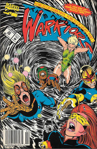 Cover Thumbnail for The New Warriors (Marvel, 1990 series) #32 [Newsstand]