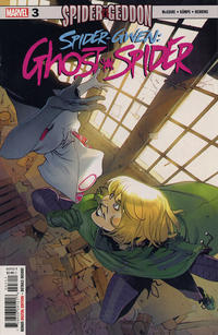 Cover Thumbnail for Spider Gwen: Ghost Spider (Marvel, 2018 series) #3