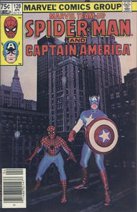 Cover Thumbnail for Marvel Team-Up (Marvel, 1972 series) #128 [Canadian]