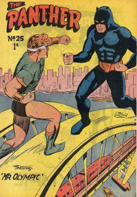 Cover Thumbnail for Paul Wheelahan's The Panther (Young's Merchandising Company, 1957 series) #25