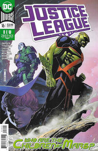 Cover Thumbnail for Justice League (DC, 2018 series) #16 [Jim Cheung Cover]