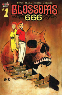 Cover Thumbnail for Blossoms: 666 (Archie, 2019 series) #1 [Cover D - Robert Hack]