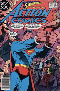 Cover Thumbnail for Action Comics (DC, 1938 series) #556 [Canadian]