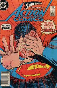 Cover Thumbnail for Action Comics (DC, 1938 series) #558 [Canadian]