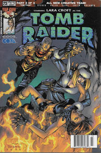 Cover Thumbnail for Tomb Raider: The Series (Image, 1999 series) #23 [Newsstand]