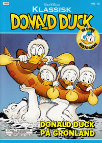 Cover Thumbnail for Klassisk Donald Duck (Hjemmet / Egmont, 2016 series) #16 - Donald Duck på Grønland