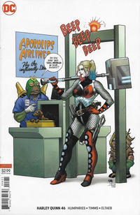 Cover Thumbnail for Harley Quinn (DC, 2016 series) #46 [Frank Cho]
