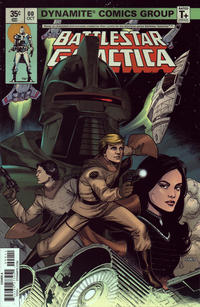Cover Thumbnail for Battlestar Galactica (Classic) (Dynamite Entertainment, 2018 series) #0