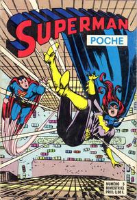 Cover Thumbnail for Superman Poche (Sage - Sagédition, 1976 series) #5