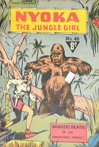 Cover Thumbnail for Nyoka the Jungle Girl (Cleland, 1949 series) #46