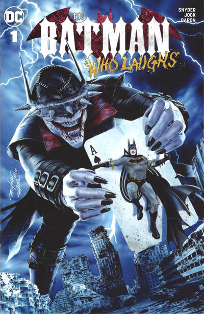 Cover for The Batman Who Laughs (DC, 2019 series) #1 [Unknown Comics Exclusive - Mico Suayan]