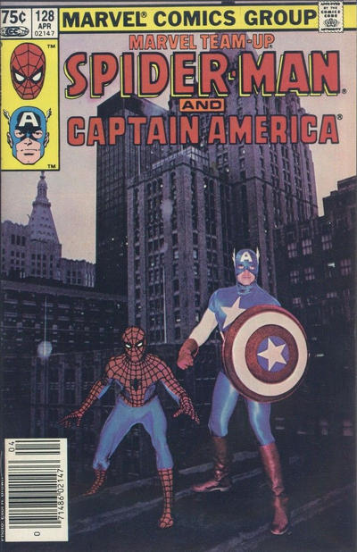 Cover for Marvel Team-Up (Marvel, 1972 series) #128 [Direct]