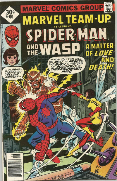 Cover for Marvel Team-Up (Marvel, 1972 series) #60 [30¢]