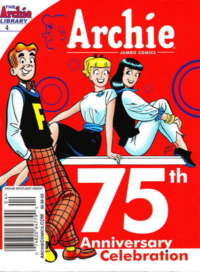 Cover for Archie Spotlight Digest: Archie 75th Anniversary Digest (Archie, 2016 series) #4 [Newsstand - Harry Lucey]