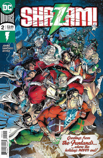 Cover for Shazam! (DC, 2019 series) #2 [Second Printing]