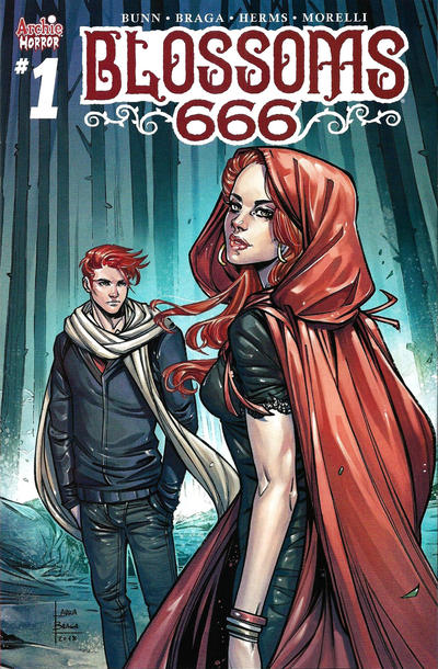 Cover for Blossoms: 666 (Archie, 2019 series) #1 [Francesco Francavilla 2nd Printing Variant]