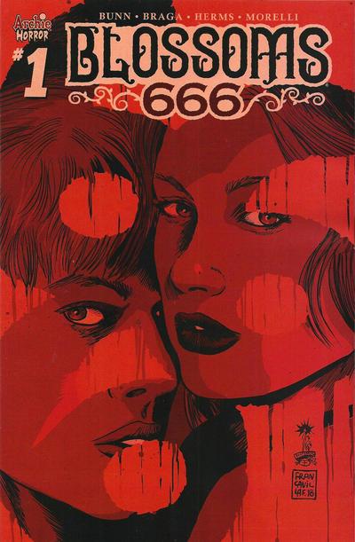 Cover for Blossoms: 666 (Archie, 2019 series) #1 [Cover B - Joe Eisma]