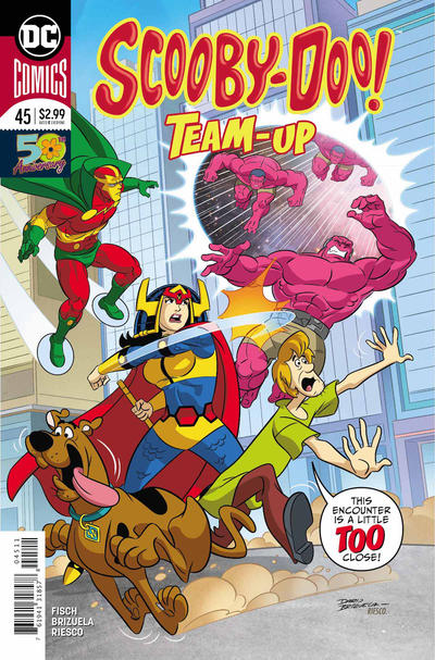 Cover for Scooby-Doo Team-Up (DC, 2014 series) #45