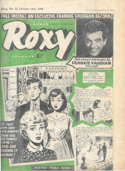 Cover for Roxy (Amalgamated Press, 1958 series) #32