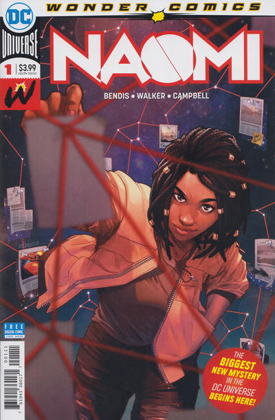 Cover for Naomi (DC, 2019 series) #1 [Emanuela Lupacchino Cover]