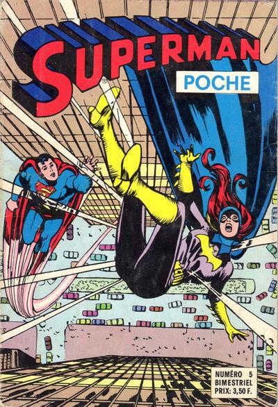 Cover for Superman Poche (Sage - Sagédition, 1976 series) #5