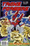 Cover for Transformers (Atlantic Förlags AB; Pandora Press, 1993 series) #1/1993