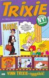 Cover for Trixie (Atlantic Förlags AB; Pandora Press, 1990 series) #1/1990