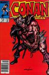 Cover for Conan the Barbarian (Marvel, 1970 series) #163 [Canadian Newsstand Edition]